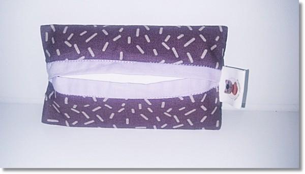 Taschentüchertasche in Flieder / Lila